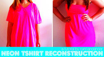 Neon T Shirt Reconstruction 