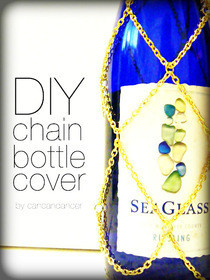 Diy Chain Bottle Cover