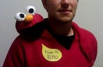 Tickle Me Elmo Costume