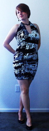 Caligraphy Convertable Dress