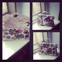 Hermes Kelly Paper Handbag (Personal Design)