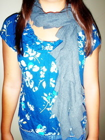 Super Easy T Shirt Scarf