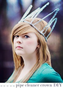 Pipe Cleaner Crown Diy
