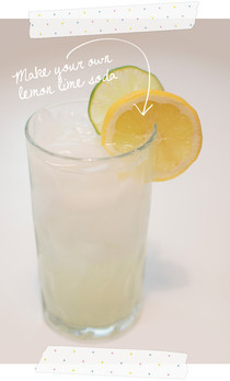 Make Your Own Lemon Lime Soda