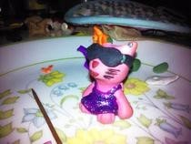 """Kitty Glitter"" Figurine"