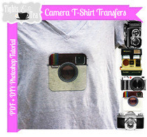 Printable T Shirt Transfers   Cameras