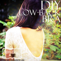 Diy Low Back Bra