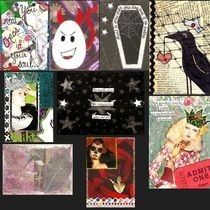 Assorted Atc's (Artist Trading Cards) 