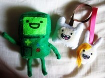 Bmo Plushie (With Finn &amp; Fiona)