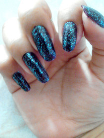 Quickly Galaxy Nails