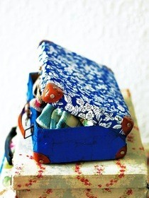 Little Covered Suitcase