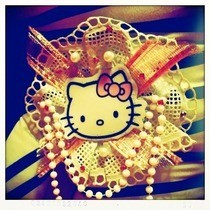 Hello Kitty Rosette