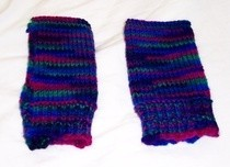 So Simple Knitted Mittens