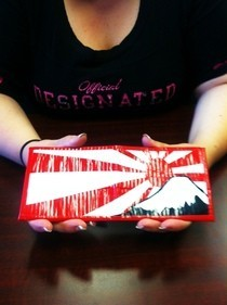 Rising Sun Duct Tape Wallet
