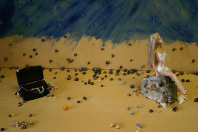 How to make a photography. Mermaid   Stop Motion Film - Step 6