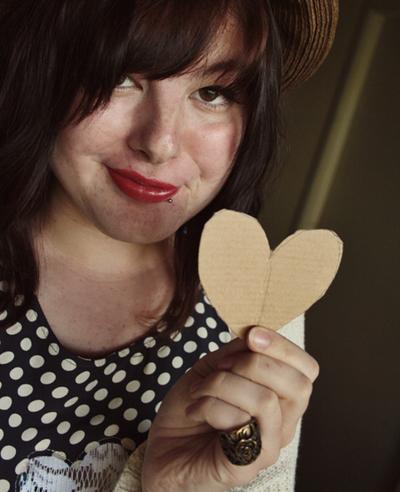 How to make a cut-out dress. Heart Cutout Dress - Step 1