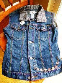 Customized Denim Vest