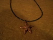 Sparkly Starfish Necklace