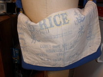 Messenger Bag From Rice Bag