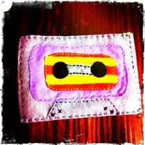 Felt Cassette Tape Ipod Case
