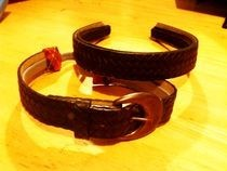 Vintage Belt Headband