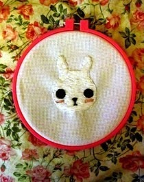 Rabbit Embroidery 