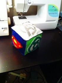 Super Hero Baby Block