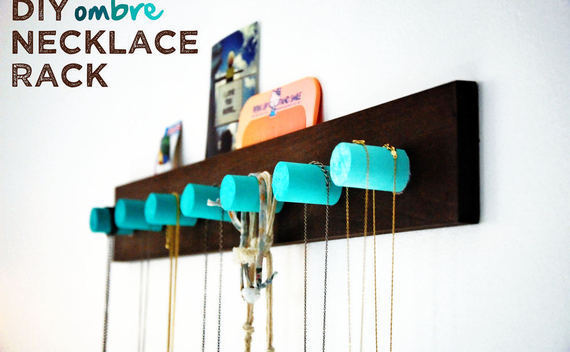 Ombre Necklace Rack