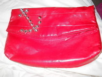 Studded Clutch Refashion
