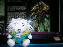 Ajani Goldmane Amigurumi
