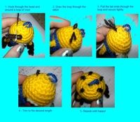 How to make a keyring. Despicable Me Minion - Step 11