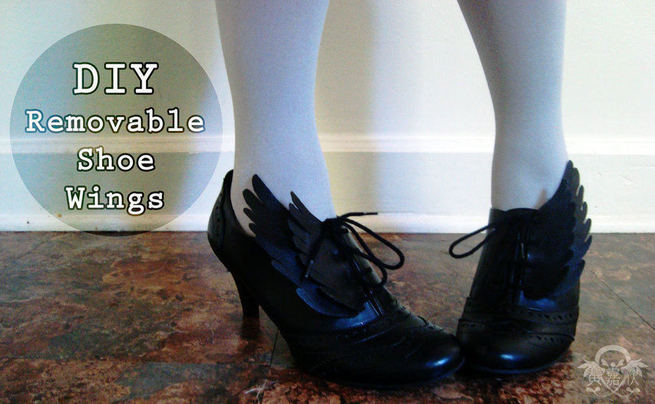 Diy Removable Shoe Wings