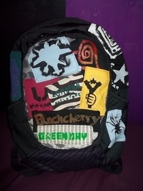 Diy Patched School Bag