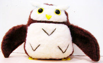 Pigmy Owl Plush (Pattern & Tutorial)