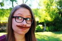Crocheted Mustache