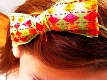 Alice Ribbon Bow Headband