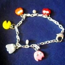 Pacman Charm Bracelet