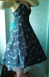 50s Rockabilly Halloween Dress