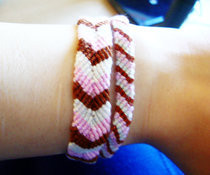 Ice Cream & Popsicle Inspired Friendship Bracelets