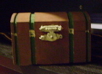  Miniature Treasure Chest