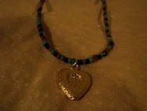 Camo Heart Necklace