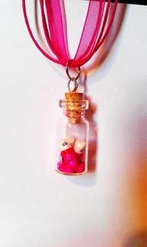 A Pill To Numb Bottle Necklace
