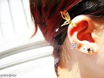 Butterfly Ear Cuff