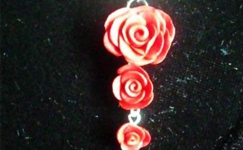 Layerd Rose Necklace