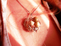Egg Nest Necklace