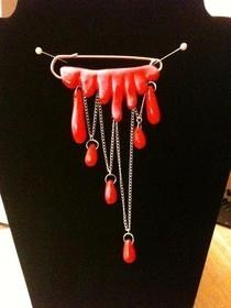 Bleeding Brooch