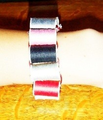 Hot Spools Of Thresd Bracelet