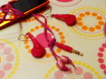 Earbud Jewelry Set