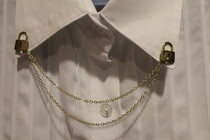 Mini Padlock Collar Chain