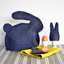 Bunny Tea And Egg Warmers